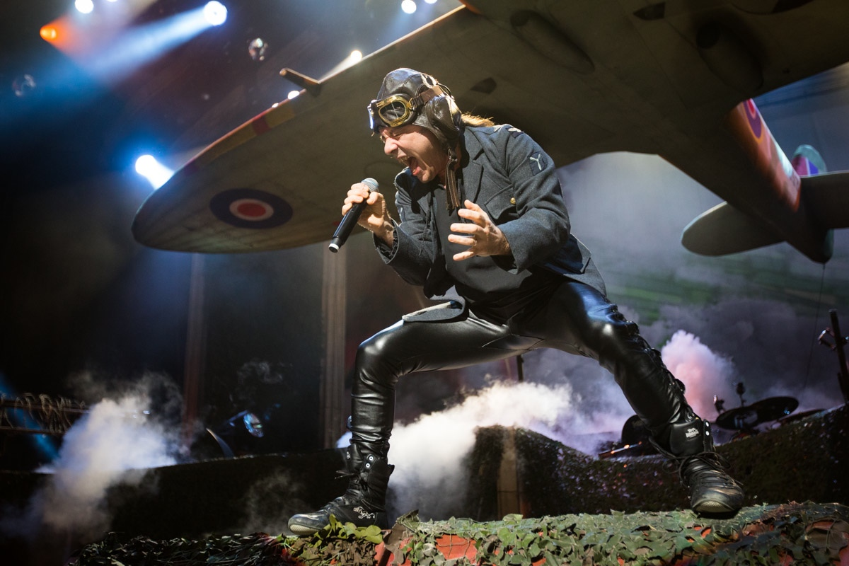 Live Review Iron Maiden Honor The Legacy Of The Beast At Xfinity Center